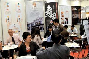 日本の食品輸出EXPO 商談状況