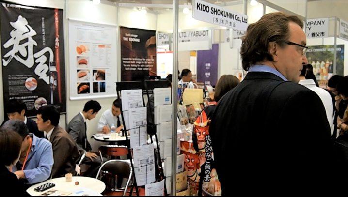日本の食品輸出EXPO5 商談アフターフォロー